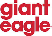 GIANT EAGLE WORD MARK STACKED - Color JP