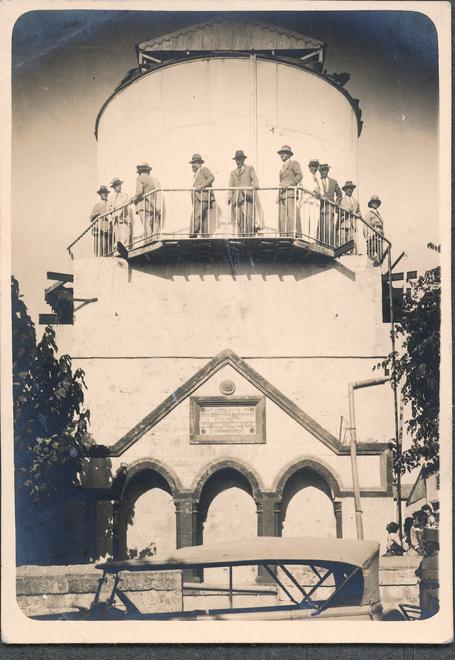 A visit by British Dignitaries, 1927