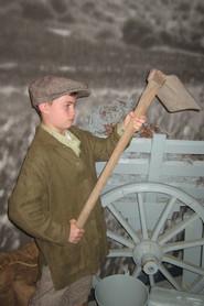 Time to pose as farm boy