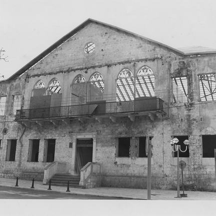 The 1990's, During Renovation