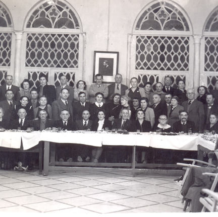 Community Gathering ,1950's