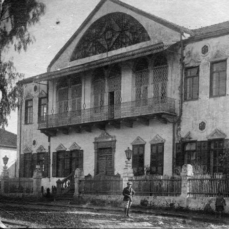בית הפקידות בשמשו כבית העם