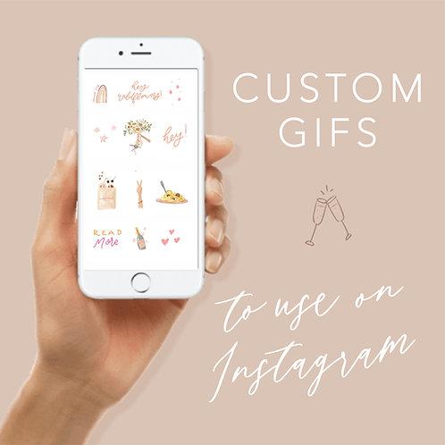 Custom gifs
