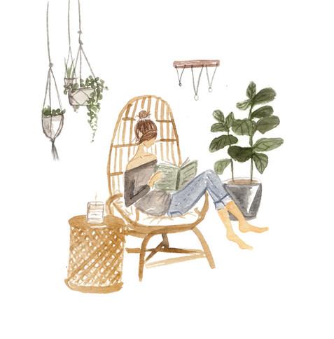 illustration 2a - girl relaxing - FINAL.