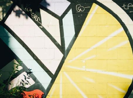 Quick Find: Modern Lemon Graffiti