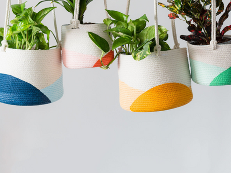 Quick Find: Happy Hanging Planters