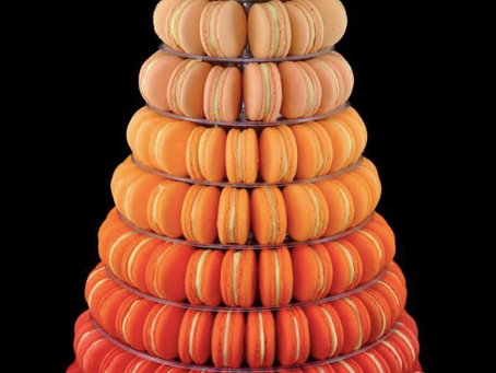 Quick Find: This ombre macaron tower.