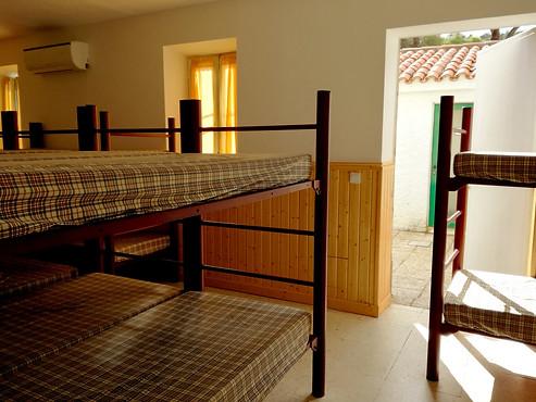 Único dormitorio del Refugio