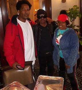 Nichelle and Shawn with R&B Legend K-Ci Haley