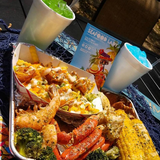 SFL Platter with Drinks