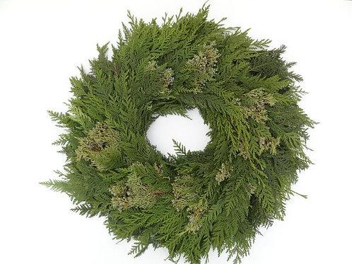 Cedar & Juniper Mix Wreath