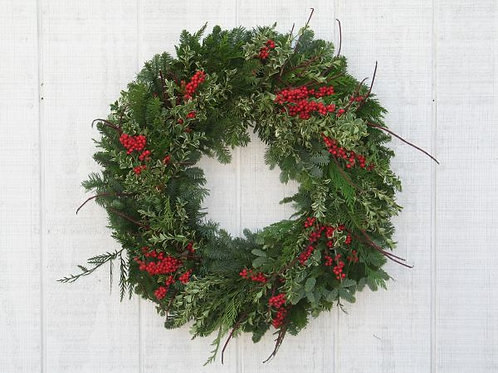Branches & Berries Premium Wreath