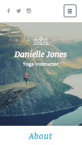 Health & Wellness website templates – Yoga Instructor