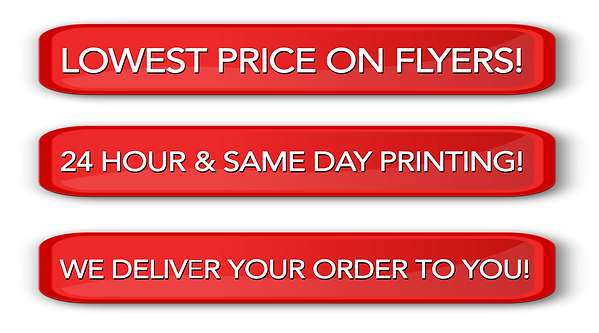 We have the best pricing on printing locally.