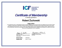 ICF Membership Robert Żuchowski