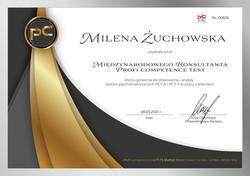 Milena Żuchowska PCT