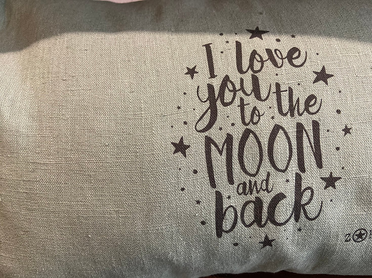 """COUSSIN """"I love you to the moon and back"""""""
