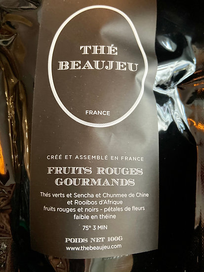 THE BIO FRUITS ROUGES GOURMANDS