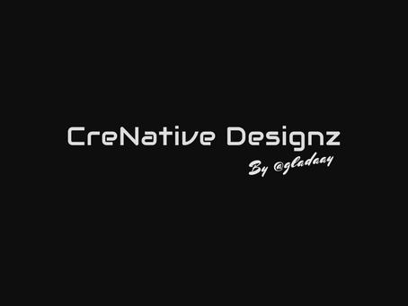 CreNative Designz is officially open!