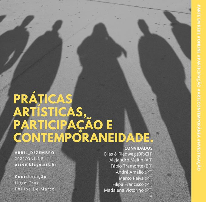 Práticas Artísticas e Participação (
