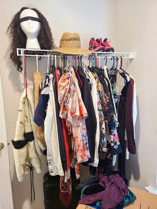 Woman's Closet (Before)