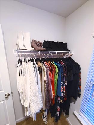 Woman's Closet (After)
