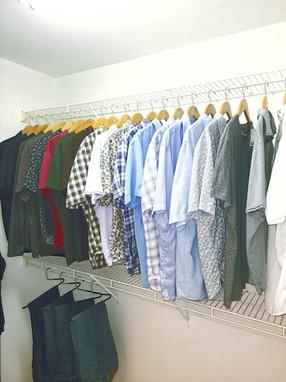 Men's Closet (After)