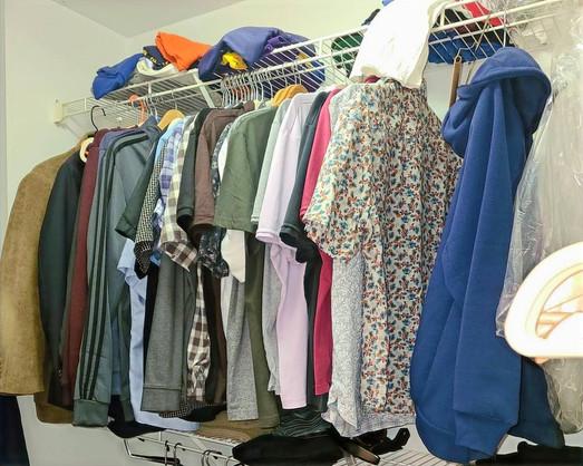 Men's Closet (Before)