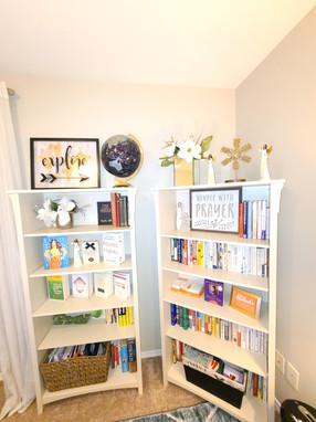 Bookshelves (After)