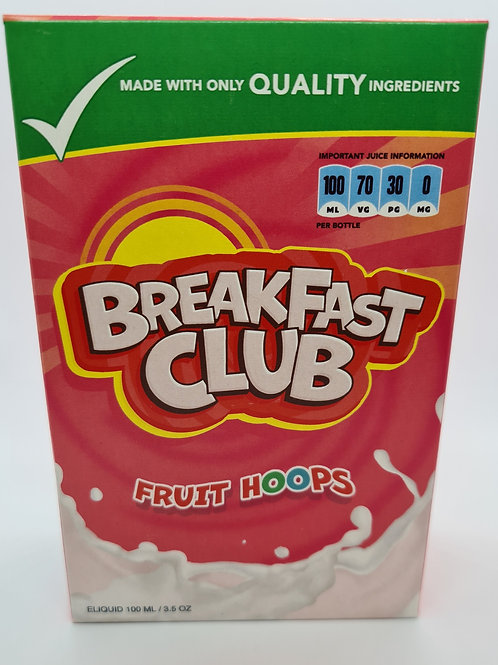 Breakfast Club Fruit Hoops 100ml