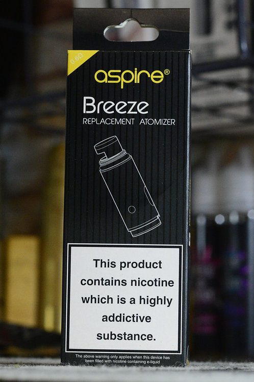 BREEZE replacement atomizer 5pcs