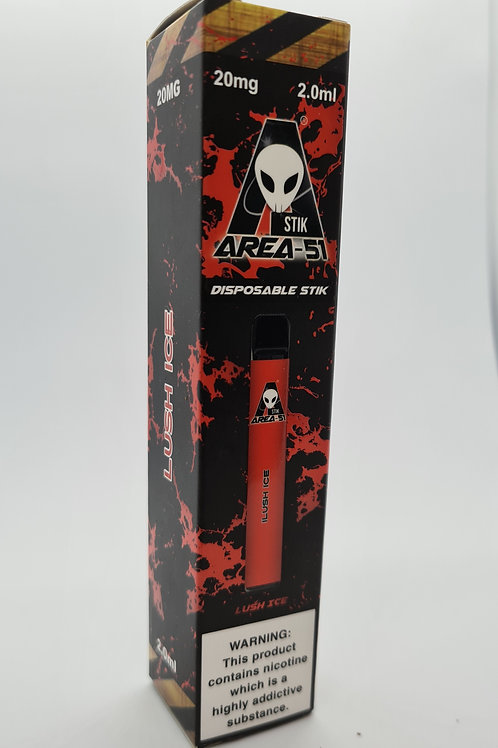 Area 51 Lush Ice 20mg 2.ml disposable