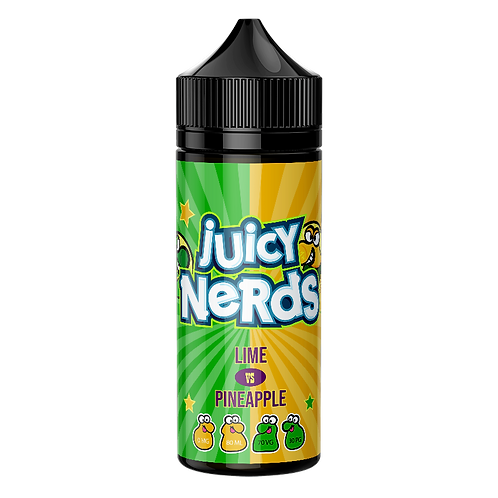 Juicy Nerds Lime & Pineapple 50ml