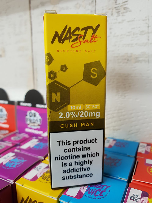 Nasty Salt Cush Man 20mg nic salts