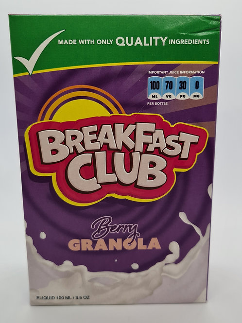 Breakfast Club Berry Granola 100ml