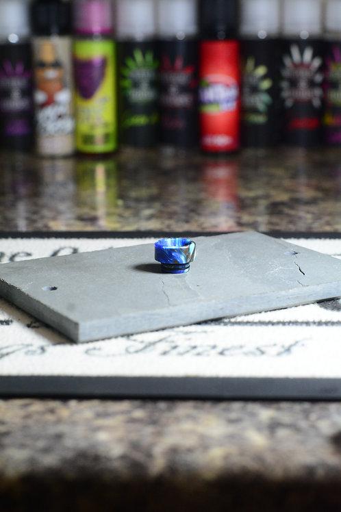 blue brown light blue resin 810 driptip