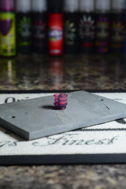 pink purple resin 810 driptip