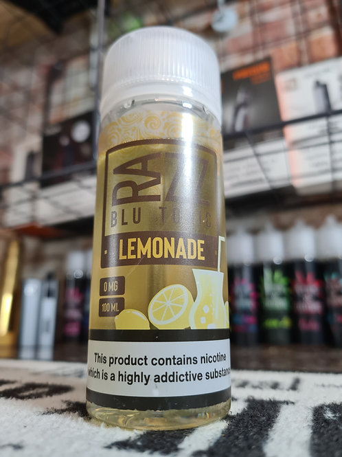 Razz Blu Tonic Lemonade 100ml