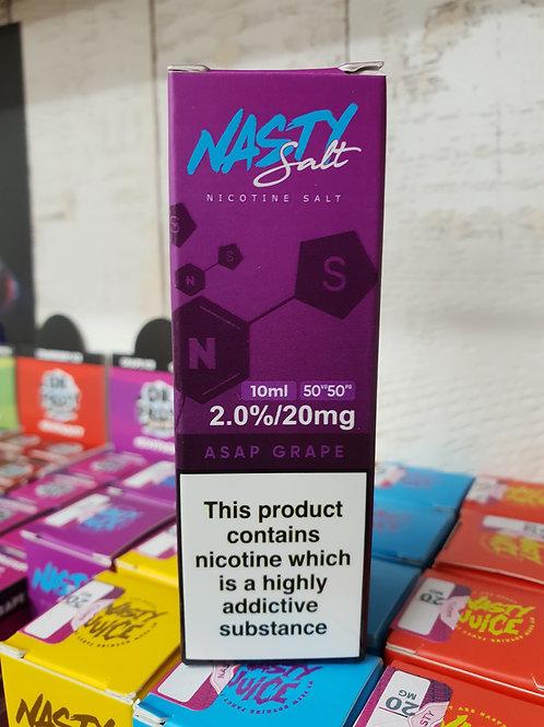 Nasty Salt Asap Grape 20mg nic salts
