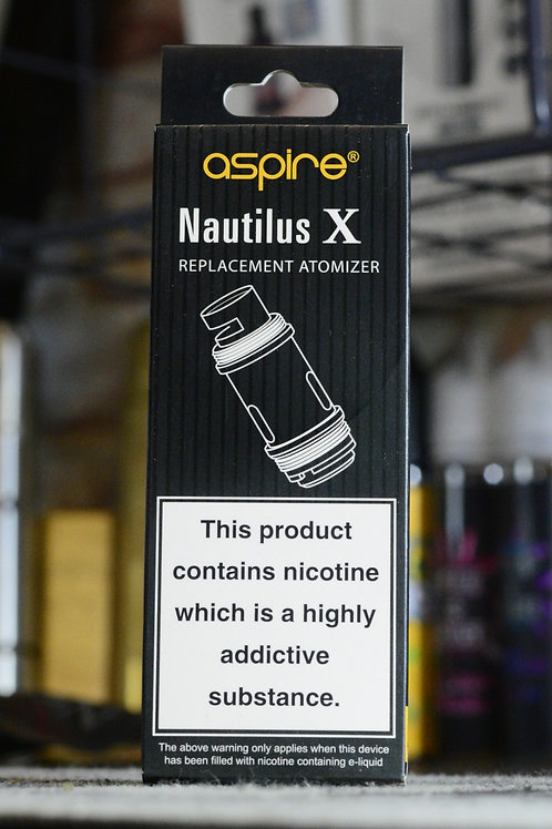 NAUTILUS X replacement atomizer 5pcs
