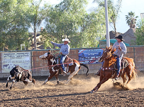 Sr Team Roping (NPRA)