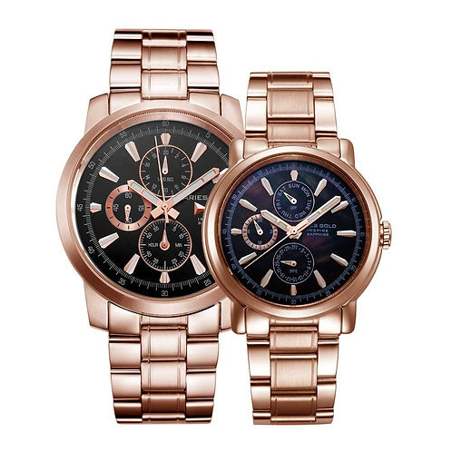 Aries Gold Contender 7301 and 7302 Couple Watches