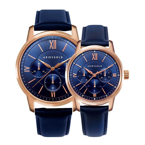 Aries Gold Eternal 1027 and 1028 Couple Watches