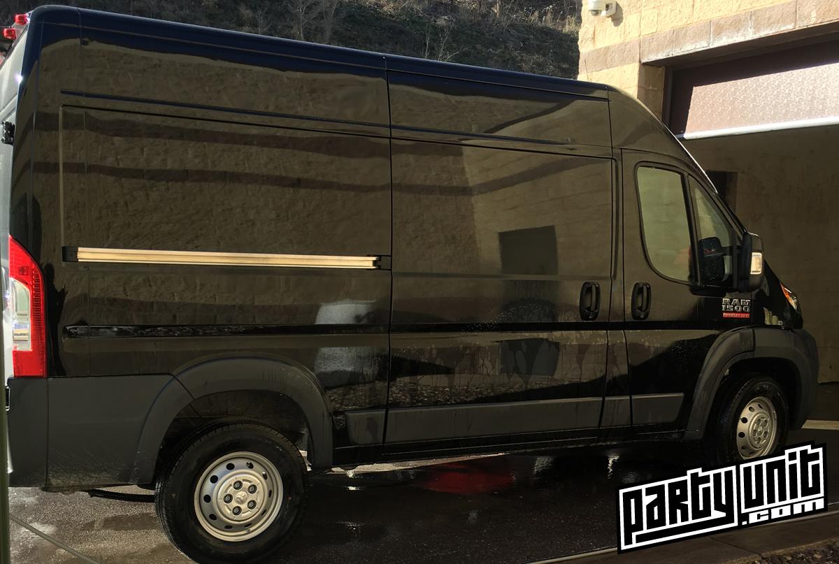 Mobile Party Van