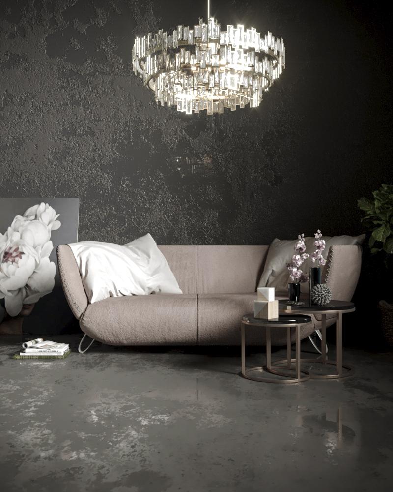 Pink Sofa Details