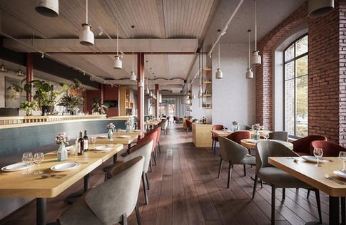 CGI- Restaurant