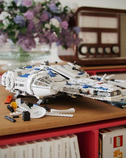 CGI- Millennium Falcon