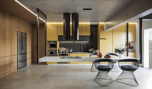 CGI-Modern Kitchen