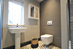 Bathroom one: shade of grey