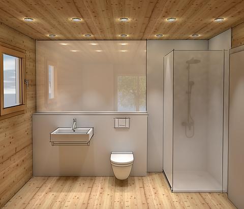 Planung 3D, Badezimmer Möbel Schrank, Steinen Schwyz, Schweiz